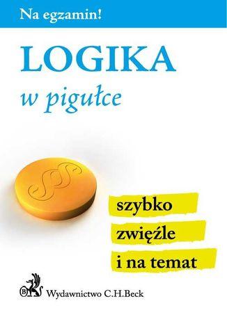 Okładka książki/ebooka Logika w pigułce