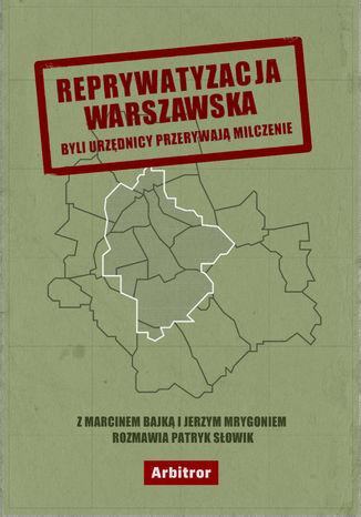 Okładka książki/ebooka Reprywatyzacja warszawska