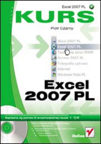 Okładka książki/ebooka Excel 2007 PL. Kurs
