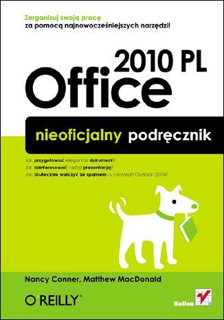 Okładka książki/ebooka Office 2010 PL. Nieoficjalny podręcznik