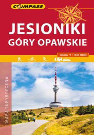 Okładka książki/ebooka Jesionki i Góry Opawskie mapa turystyczna 1:50 000