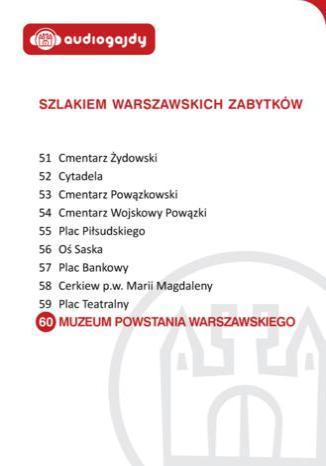 Okładka książki/ebooka Muzeum Powstania Warszawskiego. Szlakiem warszawskich zabytków