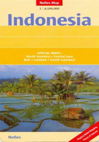 Okładka książki/ebooka Indonezja. Mapa Nelles 1:4 500 000