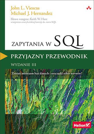 Okładka książki/ebooka Zapytania w SQL. Przyjazny przewodnik