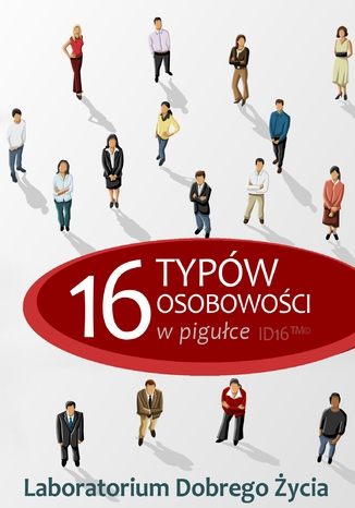 Okładka książki/ebooka 16 typów osobowości w pigułce