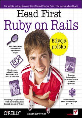 Okładka książki/ebooka Head First Ruby on Rails. Edycja polska