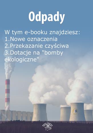 Okładka książki/ebooka Odpady, wydanie wrzesień 2014 r