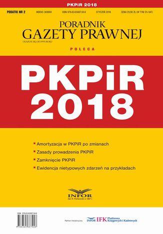 Okładka książki/ebooka PKPiR 2018