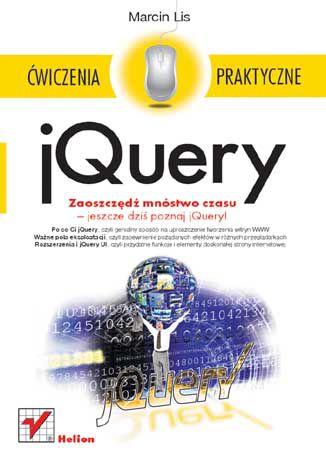 Okładka książki/ebooka jQuery. Ćwiczenia praktyczne