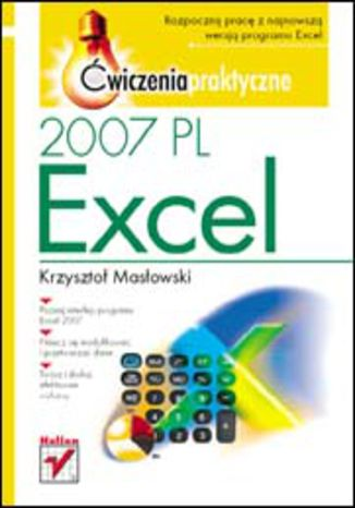 Okładka książki/ebooka Excel 2007 PL. Ćwiczenia praktyczne
