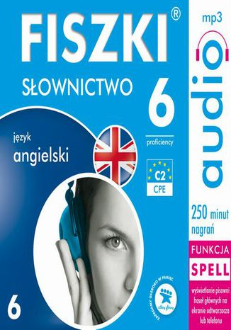 Okładka książki/ebooka FISZKI audio  j. angielski  Słownictwo 6