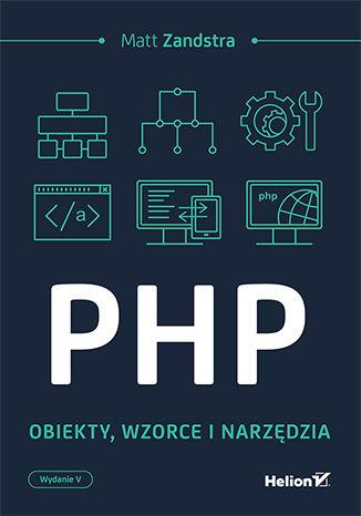 Okładka książki PHP. Obiekty, wzorce, narzędzia. Wydanie V