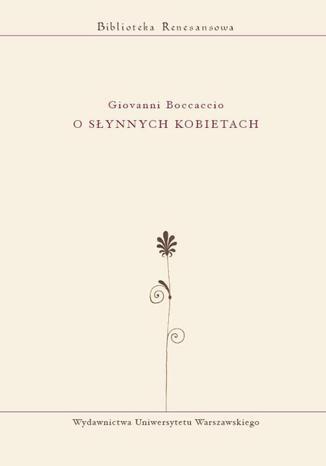 Okładka książki/ebooka O słynnych kobietach