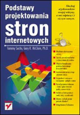 Okładka książki Podstawy projektowania stron internetowych