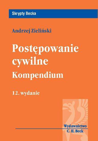 Okładka książki/ebooka Postępowanie cywilne. Kompendium