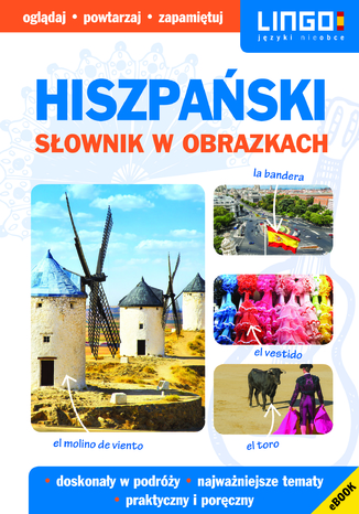 Okładka książki/ebooka Hiszpański. Słownik w obrazkach