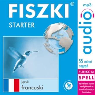 Okładka książki FISZKI audio  j. francuski  Starter