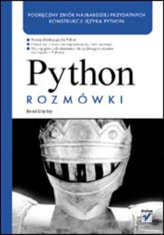 Okładka książki/ebooka Python. Rozmówki
