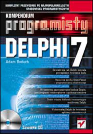 Okładka książki Delphi 7. Kompendium programisty