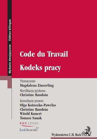 Okładka książki/ebooka Kodeks pracy. Code du Travail