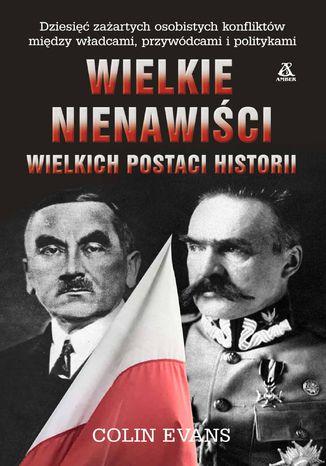 Okładka książki/ebooka Wielkie nienawiści wielkich postaci historii