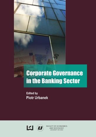 Okładka książki/ebooka Corporate Governance in the Banking Sector