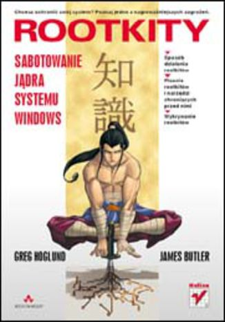 Okładka książki/ebooka Rootkity. Sabotowanie jądra systemu Windows