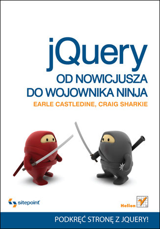 Okładka książki/ebooka jQuery. Od nowicjusza do wojownika ninja