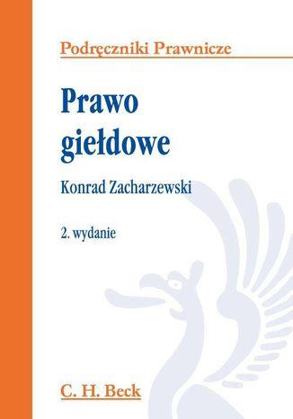 Okładka książki/ebooka Prawo giełdowe