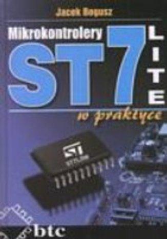 Okładka książki Mikrokontrolery ST7 LITE w praktyce