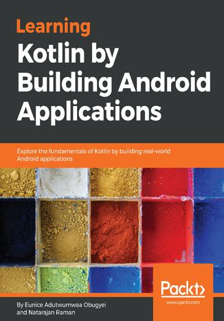 Okładka książki/ebooka Learning Kotlin by building Android Applications