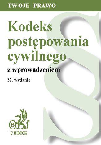 Okładka książki/ebooka Kodeks postępowania cywilnego z wprowadzeniem