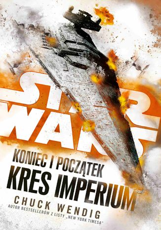 Okładka książki/ebooka Star Wars. Koniec i początek. Kres Imperium