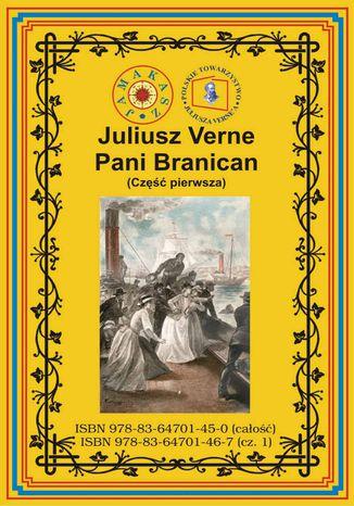 Okładka książki/ebooka Pani Branican. Część pierwsza