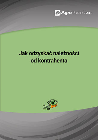 Okładka książki/ebooka Jak odzyskać należności od kontrahenta