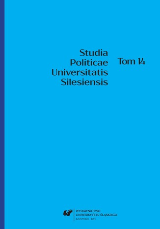 Okładka książki/ebooka Studia Politicae Universitatis Silesiensis. T. 14