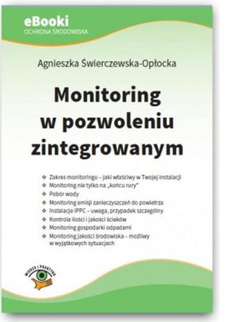 Okładka książki/ebooka Monitoring w pozwoleniu zintegrowanym