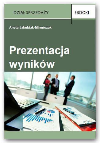 Okładka książki/ebooka Prezentacja wyników
