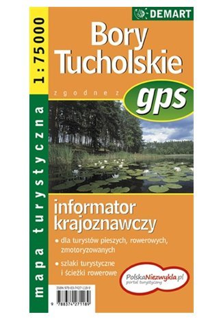 Okładka książki/ebooka Bory Tucholskie. Mapa turystyczna