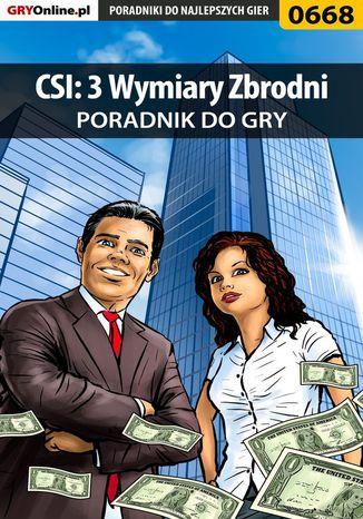 Okładka książki/ebooka CSI: 3 Wymiary Zbrodni - poradnik do gry