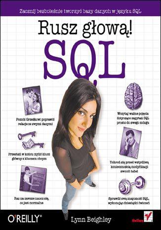 Okładka książki/ebooka SQL. Rusz głową!