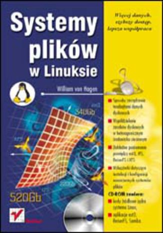 Okładka książki/ebooka Systemy plików w Linuksie