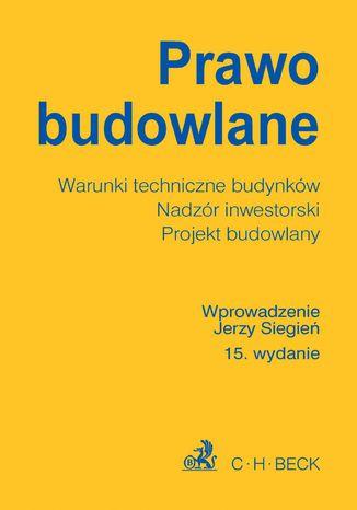 Okładka książki/ebooka Prawo budowlane