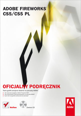 Okładka książki/ebooka Adobe Fireworks CS5/CS5 PL. Oficjalny podręcznik
