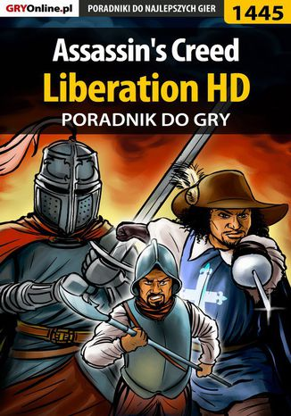 Okładka książki/ebooka Assassin's Creed: Liberation HD - poradnik do gry