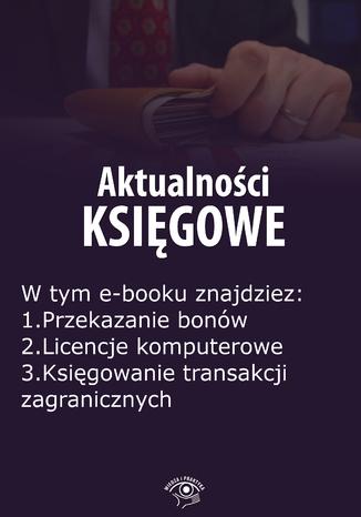Okładka książki/ebooka Aktualności księgowe, wydanie kwiecień 2016 r. część I