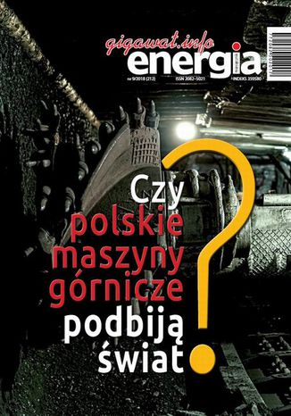 Okładka książki/ebooka Energia Gigawat nr 9/2018