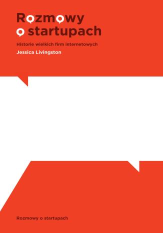 Okładka książki/ebooka Rozmowy o startupach
