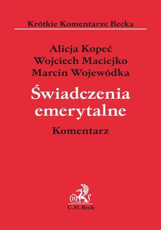 Okładka książki/ebooka Świadczenia emerytalne. Komentarz