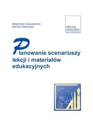 Okładka książki/ebooka Planowanie scenariuszy lekcji i materiałów edukacyjnych
